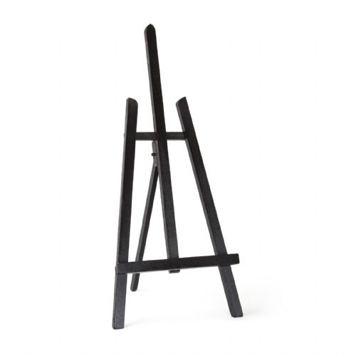 "Black Colour Easel Essex 24"" - Beech Wood"